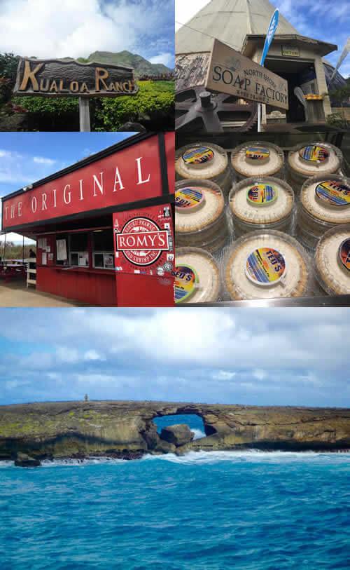 ハワイアンの聖地 クアロア&ガーリックシュリンプをがっつり ツアーの写真