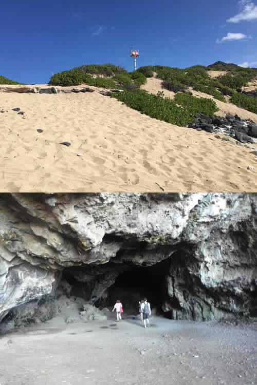 秘境・オアフ島最西端 探検ツアーの写真