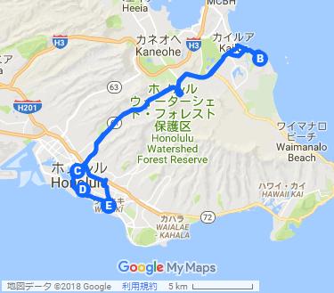 インスタ映え!写真スポットを巡る フォトツアーの地図